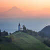Sunrise in Slovenia