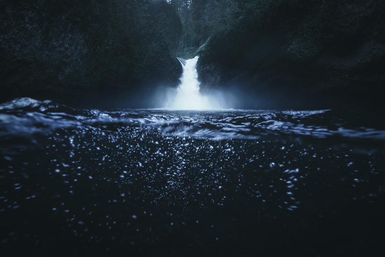 Underwater Punchbowl Falls