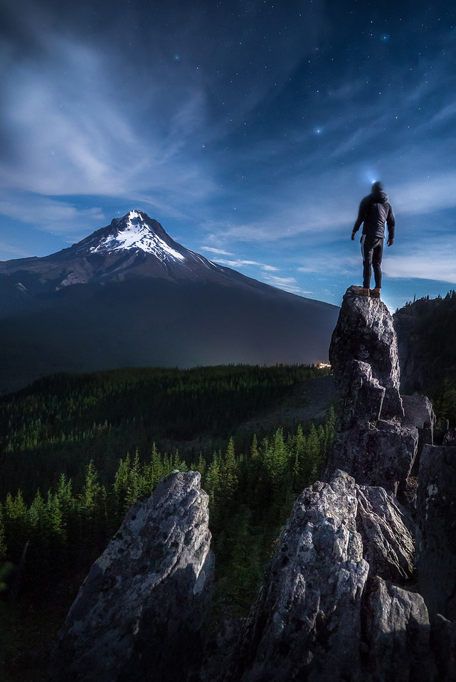 Star Gazing on Mt. Hood, Oregon