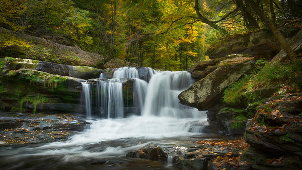 Dunloupe Creek Falls