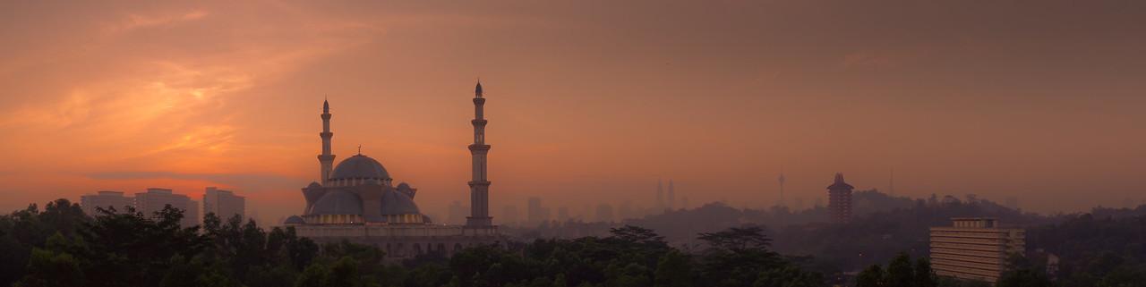 Sunrise over KL