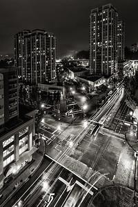 Intersecting at Night