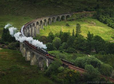 Scotland, Hogwarts express