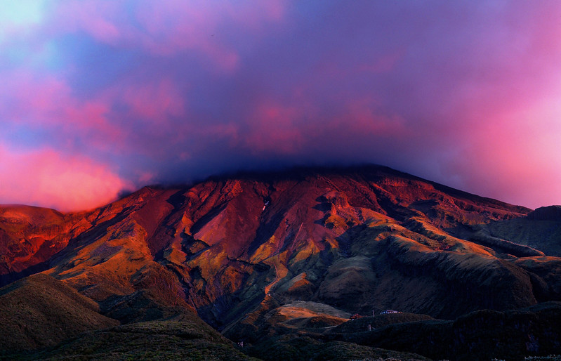 Mount Taranaki Sunrise