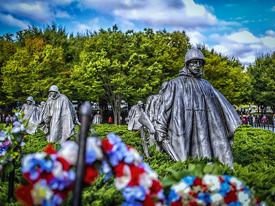 Korean Memorial, Washington DC, USA
