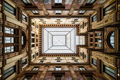 Roman Courtyard