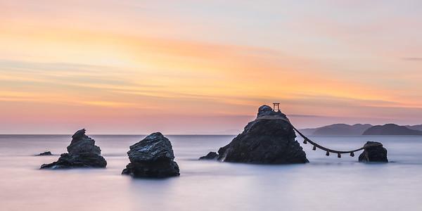Meoto Iwa Sunrise