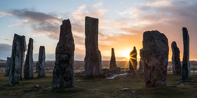 Sunset at Callanish
