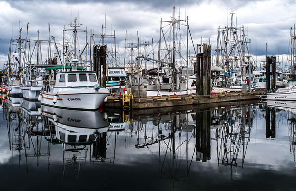 French Creek Harbour, Vancouver Island, BC