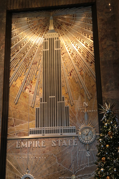 NEW YORK  TO THE TOP OF EMPIRE STATE BUILDING