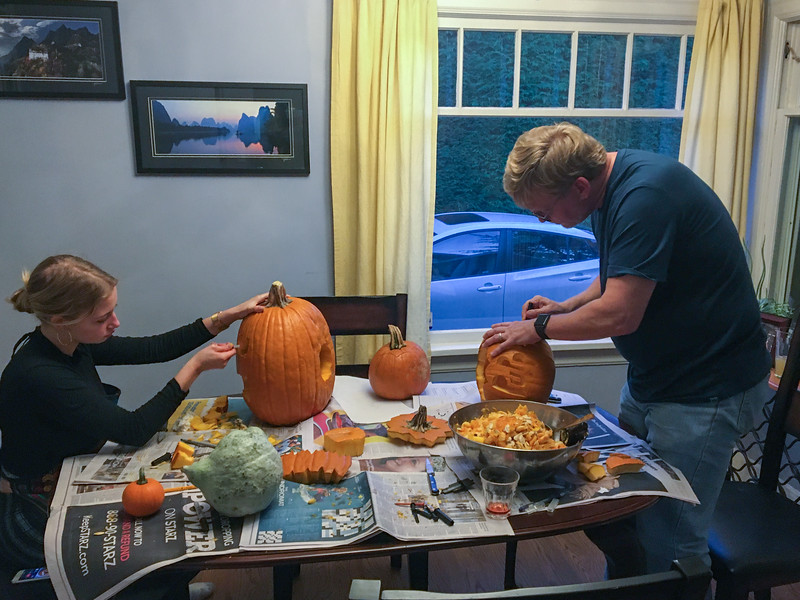 More Pumpkin Carving