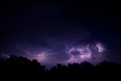 Lightning Storm June 25th, 2009