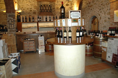 a wine museum in Greve