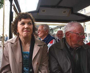 Pat enjoying the tour