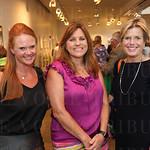 Vice President of Revenue Development for the Louisville Sports Commission Julie Howell,Jennifer Barnett and Lisa Haller.