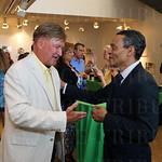 John Mullins and President & CEO, Muhammad Ali Center Donald Lassere.