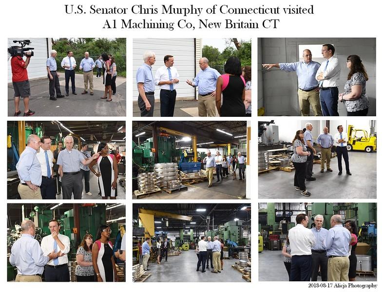 U.S. Senator Chris Murphy Visit