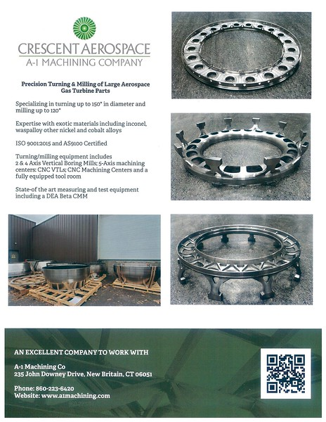 A1 Machining Flyer