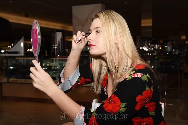 Olivia - Clarins Makeup Showcase