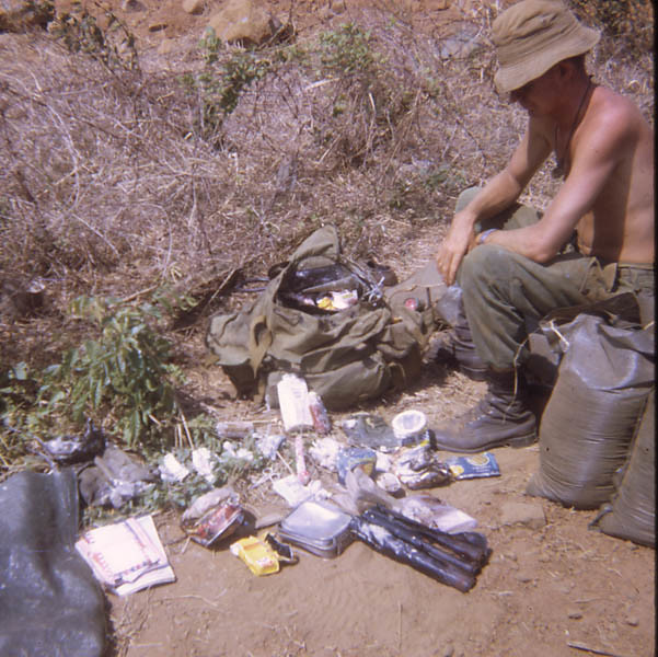 Photographs Taken During 104 Fd Bty, 12 Fd Regt Tour of SVN 1968-1969