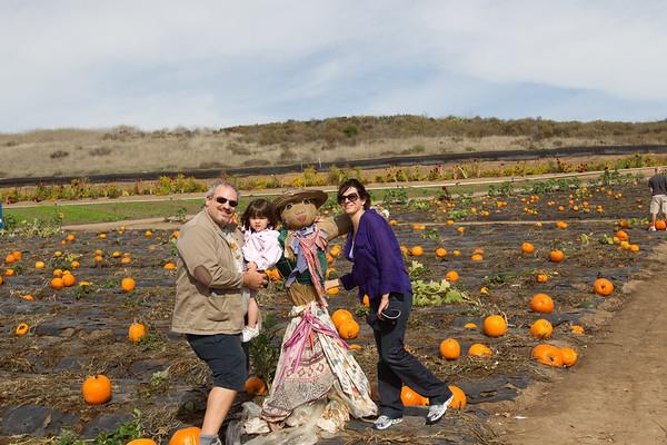 Gabrielle Pumpkin Patch - 10-2010