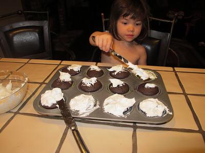 Making Cupcakes - 3-25-12