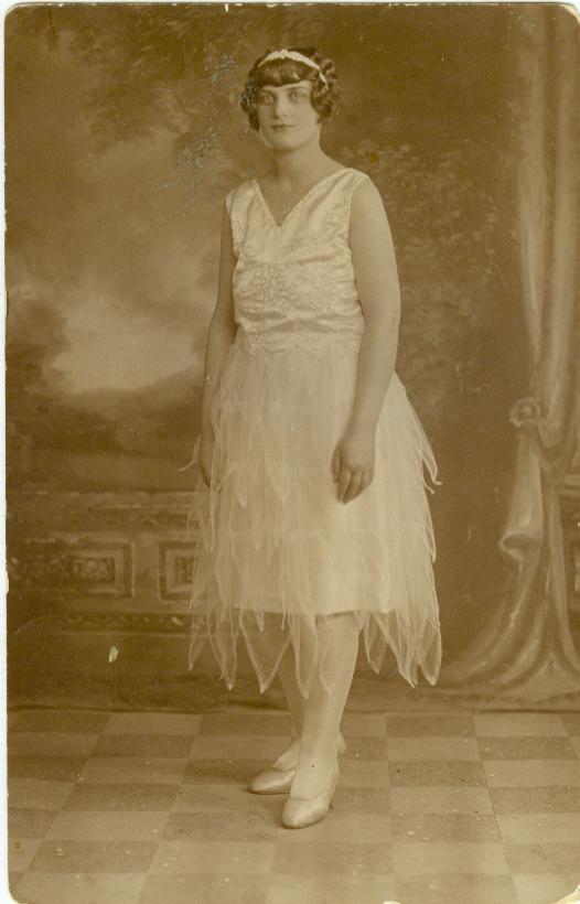 Eva, my dad's birth mother.