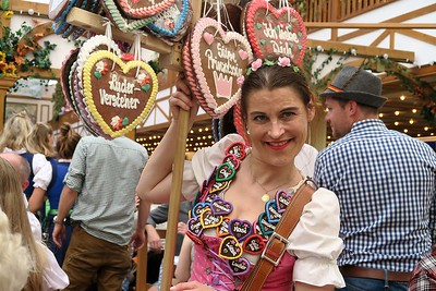 Candy sales girl