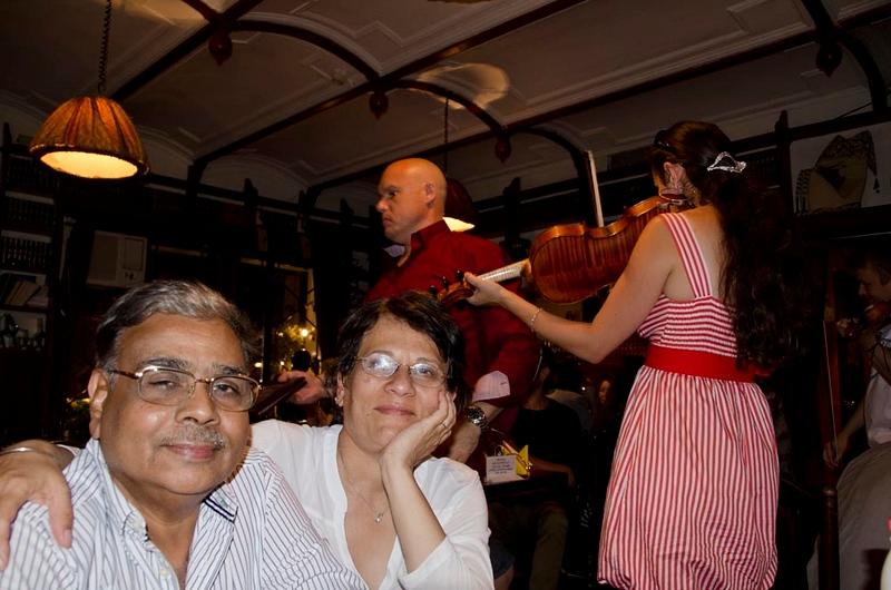 An evening at Cafe Margarita