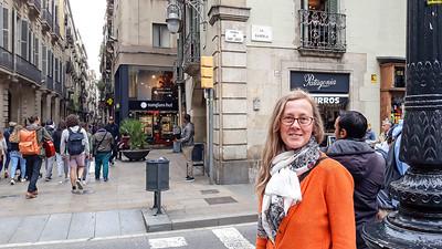 2019 Barcelona. La Rambla