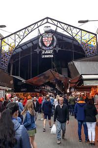2019 Barcelona. Mercado de La Boqueria