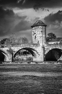 Monnow Bridge, Monnow Street, Monmouth, South Wales 11