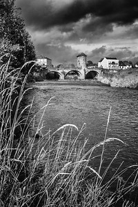Monnow Bridge, Monnow Street, Monmouth, South Wales 12