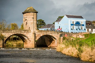 Monnow Bridge, Monnow Street, Monmouth, South Wales 13