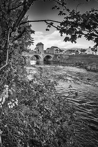 Monnow Bridge, Monnow Street, Monmouth, South Wales 06