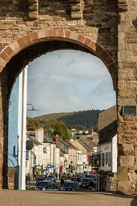 Monnow Bridge, Monnow Street, Monmouth, South Wales 15