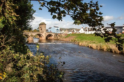 Monnow Bridge, Monnow Street, Monmouth, South Wales 05