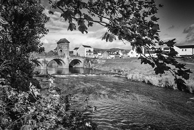 Monnow Bridge, Monnow Street, Monmouth, South Wales 08
