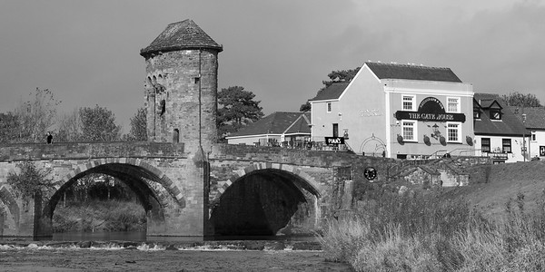 Monnow Bridge, Monnow Street, Monmouth, South Wales 14