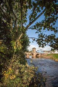 Monnow Bridge, Monnow Street, Monmouth, South Wales 04