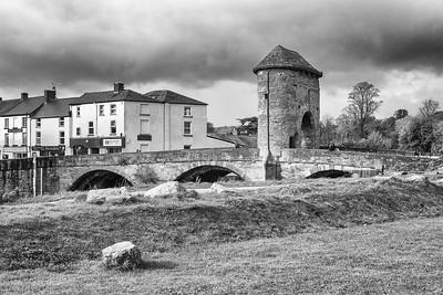 Monnow Bridge, Monnow Street, Monmouth, South Wales 18
