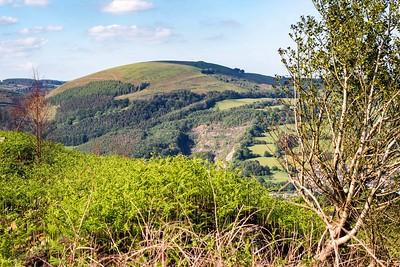 Mynydd Machen views -19 Twmbarlwm Hill