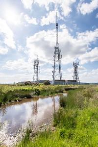 Mynydd Machen views -04 Transmitter masts