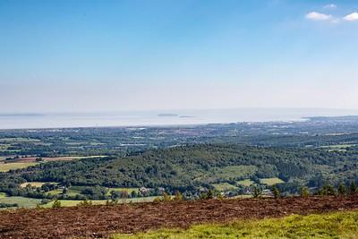 Mynydd Machen views -15 Steep Holm and Flat Holm off Cardiff Bay