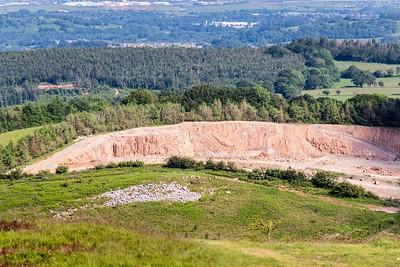 Mynydd Machen views -12 Machen quarry