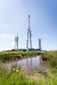 Mynydd Machen views -05 Transmitter masts