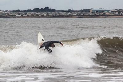 Ogmore Beach Surfers