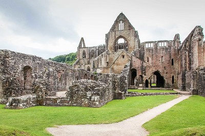 Tintern Abbey, Monmouthshire, South Wales 11