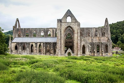 Tintern Abbey, Monmouthshire, South Wales 02