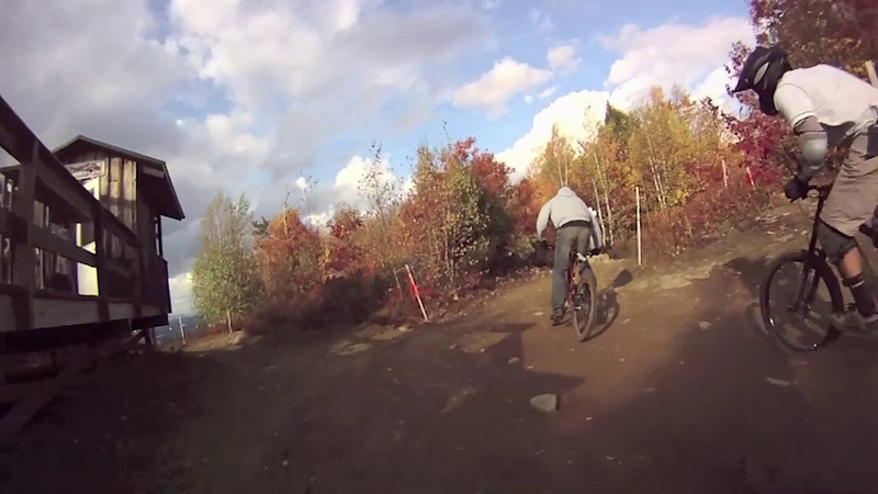 Hellion Trail @ Highland Mountain Bike park